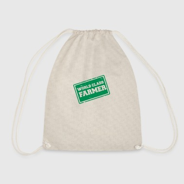 Farmer / Farmer / Farmer: World Class Farmer - Drawstring Bag
