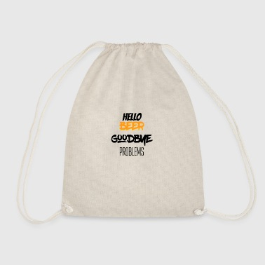 Hello beer - Drawstring Bag