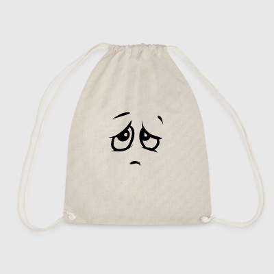 sad - Drawstring Bag