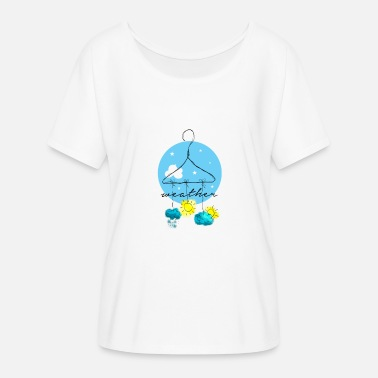 Weather Weather, Weather, Wetter - Women's Batwing T-Shirt