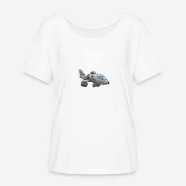 plane - Women's Batwing-Sleeve T-Shirt by Bella + Canvas