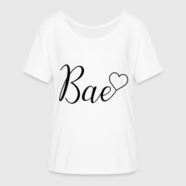 Bae - Women's Batwing-Sleeve T-Shirt by Bella + Canvas