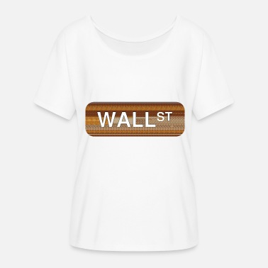 Wall Street Wall Street - Women's Batwing-Sleeve T-Shirt by Bella + Canvas