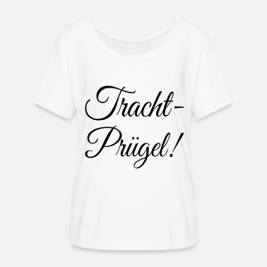 Traditionnel Pruegel traditionnel - T-shirt manches chauve-souris Femme Bella + Canvas