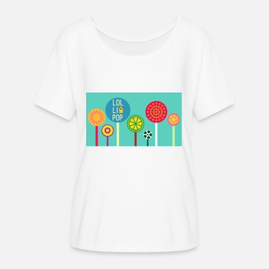 Lollipop Design lollipop - Women's Batwing-Sleeve T-Shirt by Bella + Canvas
