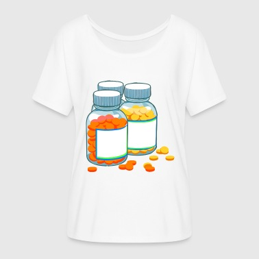 drugs - Women's Batwing-Sleeve T-Shirt by Bella + Canvas