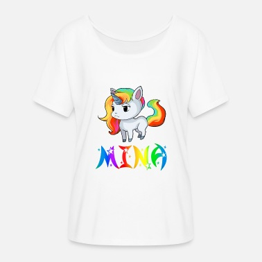 Mina Mina unicorn - Women's Batwing-Sleeve T-Shirt by Bella + Canvas