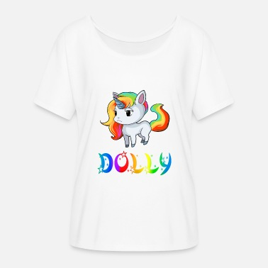 Dolly Unicorn dolly - Women's Batwing-Sleeve T-Shirt by Bella + Canvas