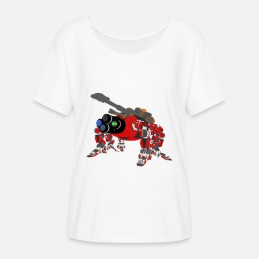 Mech Mech Spider - Women's Batwing-Sleeve T-Shirt by Bella + Canvas