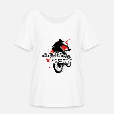 Toddler mountain bike - Women's Batwing-Sleeve T-Shirt by Bella + Canvas