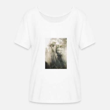 Mystisch Big Island Hawaii Jungle Sonnenstrahlen Hoffnung - Frauen Fledermaus T-Shirt