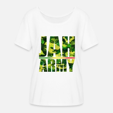 Jah Army Jah Army - Women's Batwing-Sleeve T-Shirt by Bella + Canvas