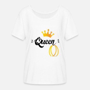 Creole queen kreol tshirt - Women's Batwing-Sleeve T-Shirt by Bella + Canvas