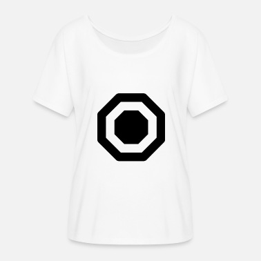 Octagon octagon - Women's Batwing-Sleeve T-Shirt by Bella + Canvas