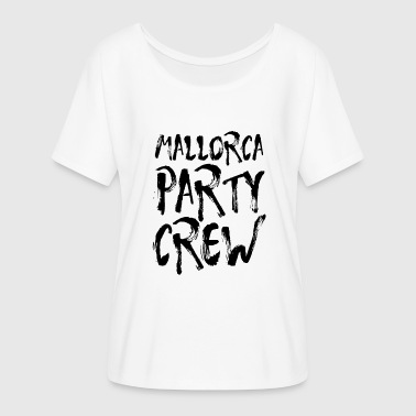 Peer Pressure Mallorca Party Crew Party Holiday Drinking Malle - Women's Batwing-Sleeve T-Shirt by Bella + Canvas
