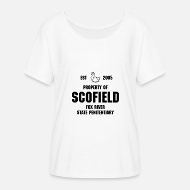 Prison Break Prison Break Scofield Fox River Series - Women's Batwing-Sleeve T-Shirt by Bella + Canvas
