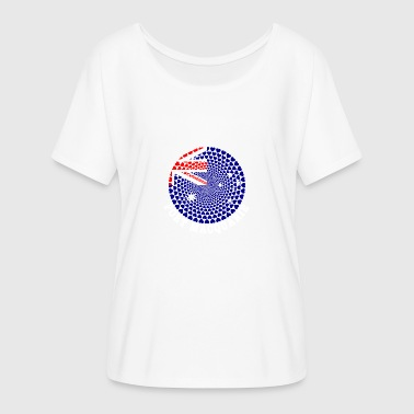 port Macquarie - Camiseta mujer con mangas murciélago de Bella + Canvas