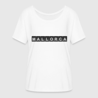 Mallorca Airport - Women's Batwing-Sleeve T-Shirt by Bella + Canvas