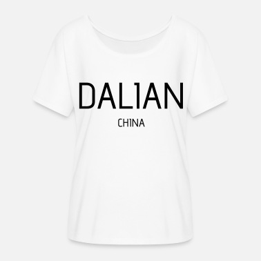 Dalian Dalian - Women's Batwing-Sleeve T-Shirt by Bella + Canvas