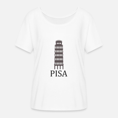 Pisa tower of Pisa - Women's Batwing-Sleeve T-Shirt by Bella + Canvas