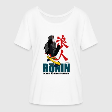 Ronin Ronin - Women's Batwing-Sleeve T-Shirt by Bella + Canvas