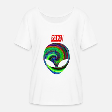 Acid Smiley rave 1 - Women's Batwing T-Shirt