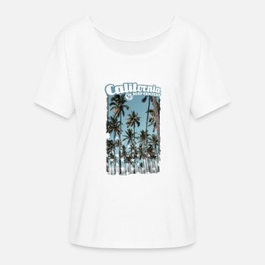 Diego palmtree stars - Women's Batwing-Sleeve T-Shirt by Bella + Canvas