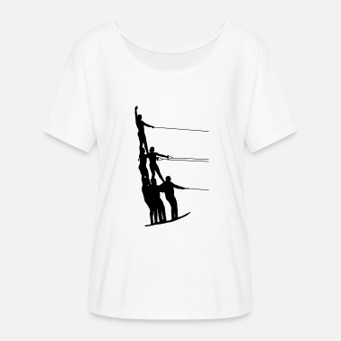 Water Sports Water skiing water sports - Women's Batwing-Sleeve T-Shirt by Bella + Canvas