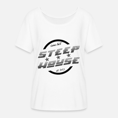Steep House New Era - Women's Batwing-Sleeve T-Shirt by Bella + Canvas