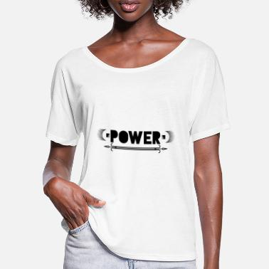 Powerful POWER - Women's Batwing T-Shirt