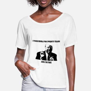 Mdma Trump MDMA - Frauen Fledermaus T-Shirt