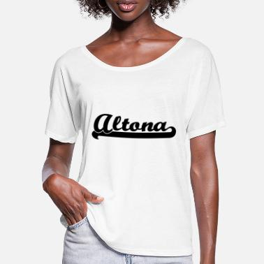 Altona altona writing - Women's Batwing T-Shirt