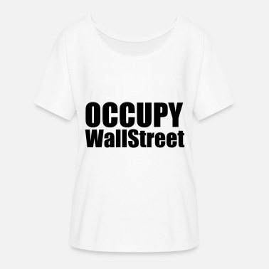 Occupy Occupy - Women's Batwing T-Shirt