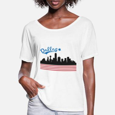 Dallas Dallas - Women's Batwing T-Shirt