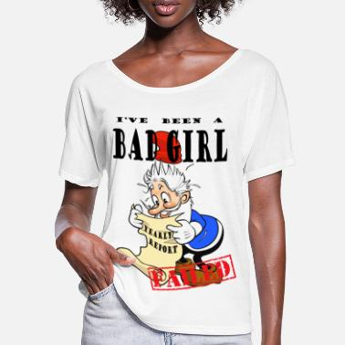 Bad Girls Excited Xmas Gnome (Girl) - T-shirt manches chauve-souris Femme