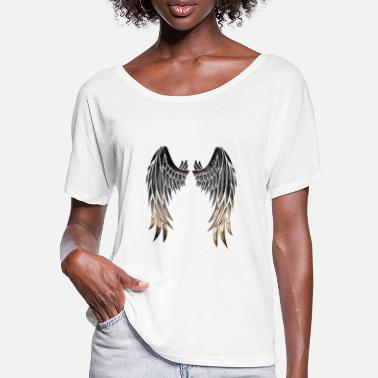 Angelwings Angelwings - Maglietta con maniche a pipistrello donna