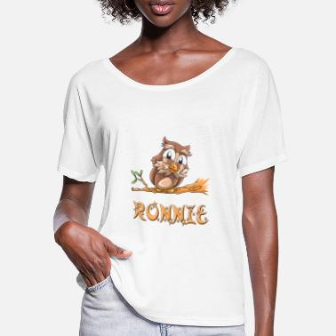 Ronny Owl Ronnie - Women's Batwing T-Shirt