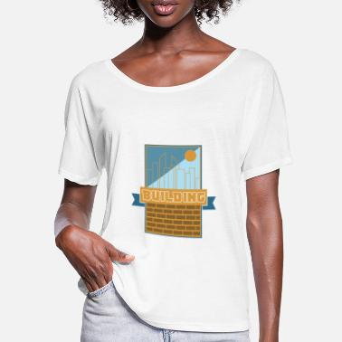 Build Building Building - Women's Batwing T-Shirt