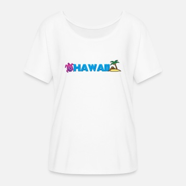 Hawaii - Women's Batwing T-Shirt