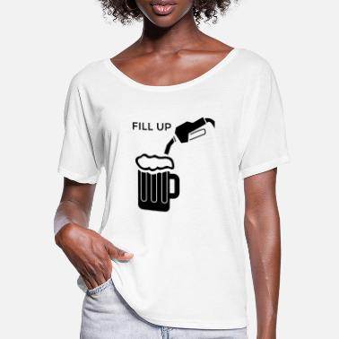 Fill Up Fill Me Up / FILL UP - Women's Batwing T-Shirt
