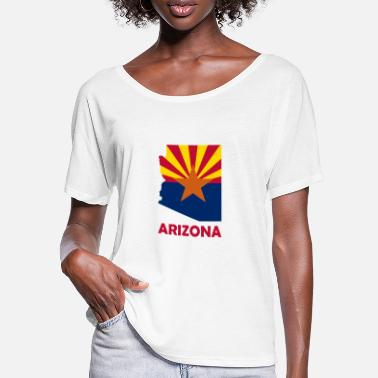 Arizona Arizona - Frauen Fledermaus T-Shirt