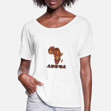 Adwoa Call me by my name ! ADWOA Ghana - Monday. - Women's Batwing T-Shirt