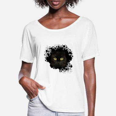 Symbol Cat - Women's Batwing T-Shirt