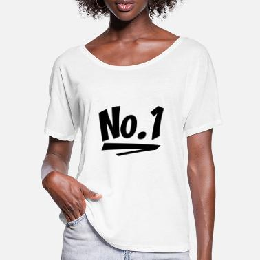 Number One number one - Women's Batwing T-Shirt