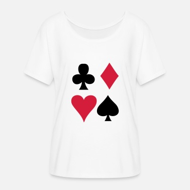 Card Game Card game - Playing Card - Women's Batwing T-Shirt