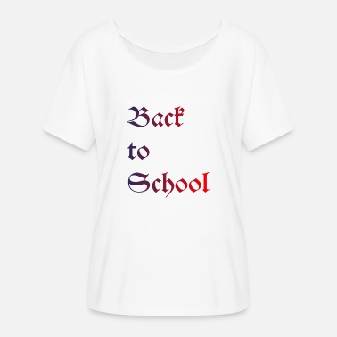 Back To School Back to School - Frauen Fledermaus T-Shirt