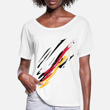 Loose Line Energies - Women's Batwing T-Shirt