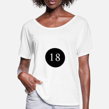 Legal Age 18, year, birthday, legal age, anniversary - Women's Batwing T-Shirt