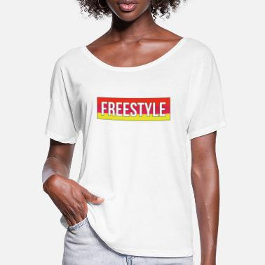 Freestyle Freestyle - T-shirt med flagermusærmer dame