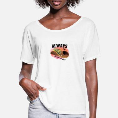 Lyrics Always Stay Humble And Kind - Women's Batwing T-Shirt